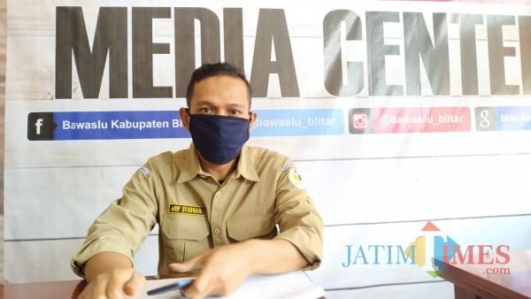 Kordiv Penanganan Pelanggaran Bawaslu Kabupaten Blitar, Arif Syarwani