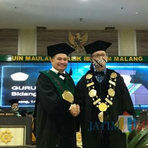 Rektor UIN Malang Kukuhkan Guru Besar Bidang Ilmu Hukum
