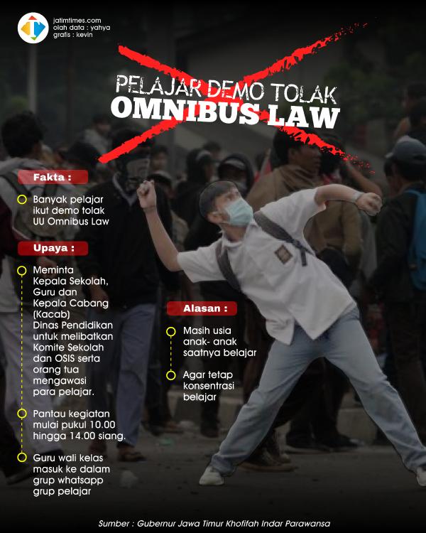 Cegah Pelajar Ikut Demo, Gubernur Khofifah Minta Libatkan Komite Sekolah dan OSIS