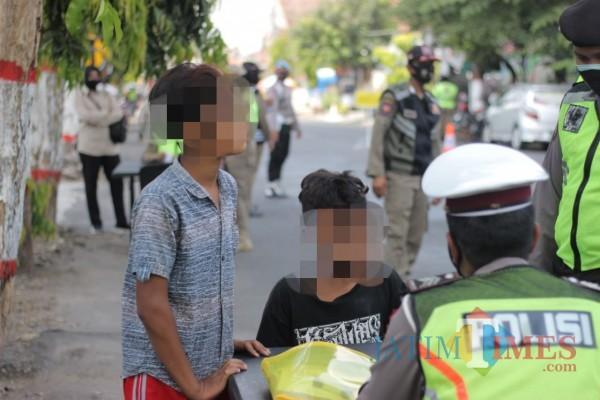 Dua bocah di Kota Blitar terjaring operasi yustisi