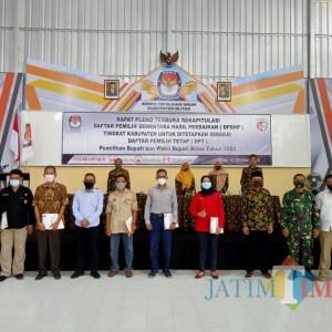 KPU Tetapkan Jumlah DPT Pilkada Kabupaten Blitar Sebanyak 961.971 Pemilih