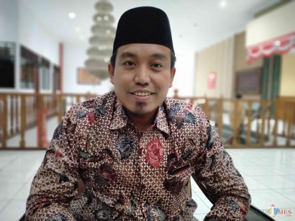 Wakil Ketua DPRD Kabupaten Sumenep, Indra Wahyudi saat ditemui di kantor DPRD setempat (Foto: Syaiful Ramadhani/JatimTIMES)