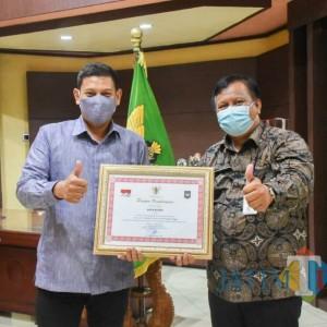 Pemkot Kediri Kembali Raih Prestasi Penyelenggaraan Pemerintah Daerah dari Kemendagri
