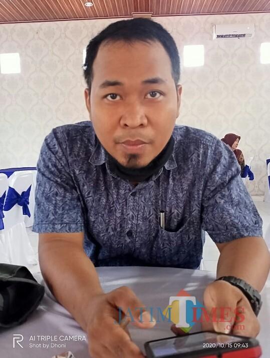 Anggota KPU Ngawi Divisi Sosialisasi Pendidikan Pemilih, Sudarsono. (Foto: Dokumen JatimTIMES)
