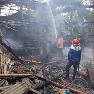 Didominasi Korsleting Listrik, Rumah di Wagir Terbakar Sebabkan Kerugian Puluhan Juta