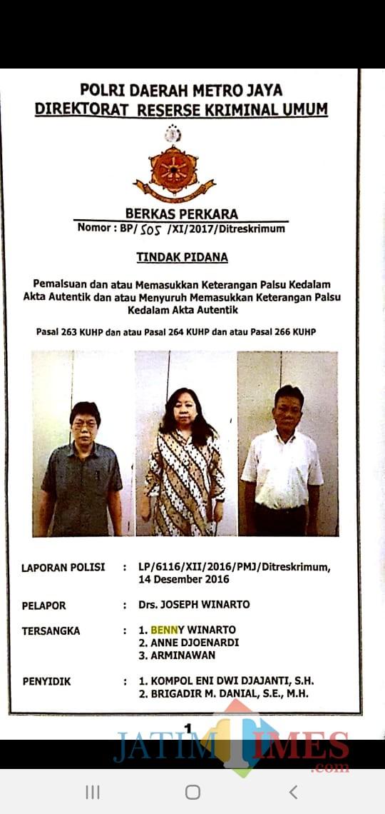 Para tersangka yang telah ditetapkan sebagai DPO kepolisian. (Foto: Ist)