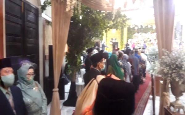 Khawatir Ada Klaster Covid-19 di Hajatan, Kepala Kemenag Jombang Diimbau Lakukan Tes Swab