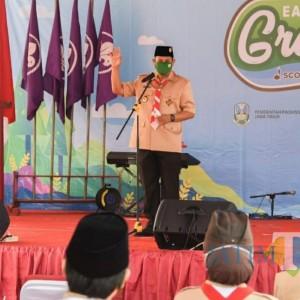 Penutupan East Java Green Scout Innovation 2020, Ini Pesan Wali Kota Kediri