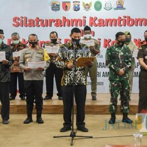 Respon Demo, Deklarasi Damai Digelar di Kota Kediri