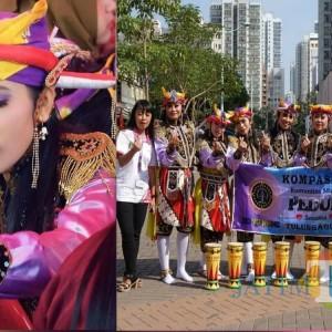 "Rachmawati ""Unyil"" TKW asal Tulungagung, Penari Lincah Reog Kendang di Hong Kong"