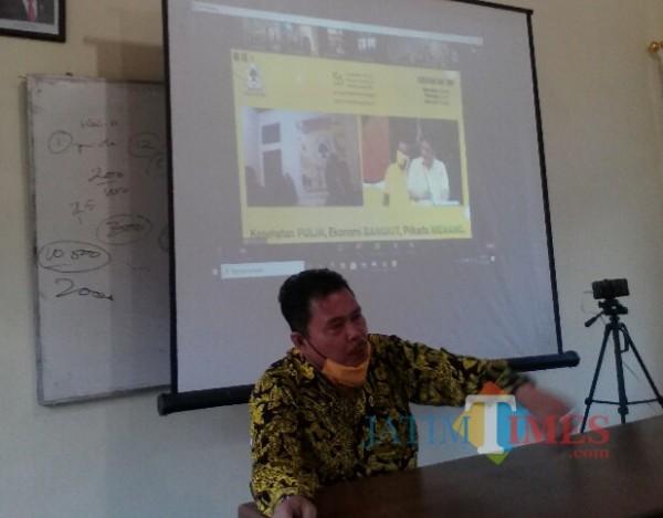 Ruliyono, Wakil Ketua DPRD yang juga Ketua DPD Partai Golkar Banyuwagi Nurhadi Banyuwangi Jatim Times
