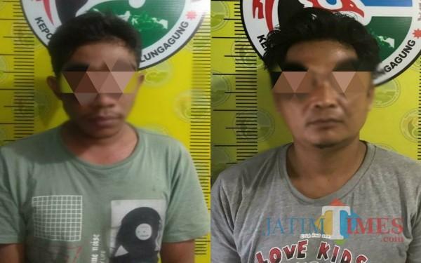 Dua Pria Sedusun di Tulungagung Ini Rukun Edarkan Sabu dan Tertangkap Beruntun