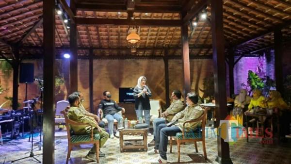 Pertemuan Bupati dan Wabup Lumajang dengan JK-OEJ (Foto : Kominfo / Jatim TIMES)