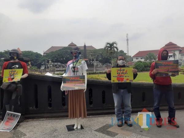 Kerja Jurnalis Dibungkam saat Liput Demo, Solidaritas JMR Anti-Kekerasan Turun ke Jalan