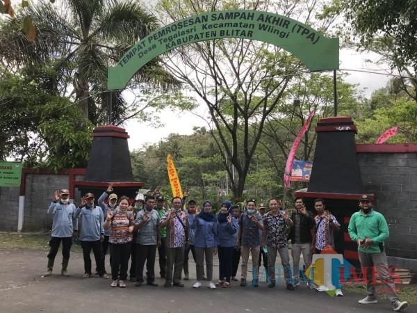 Kunjungan Tim dari Balai Taman Nasional Bunaken di TPA Tegalasri Wlingi