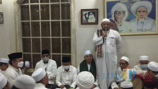 Bersama Dahlan Iskan, MA Selawatan Maulid Nabi di Ampel