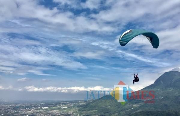 Virtual Paragliding Festival, Atlet FASI Kota Batu Kuasai Senior Putra dan Junior Putri