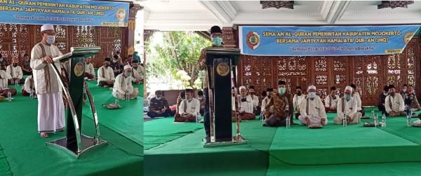 Perangi Covid-19, Pemkab Mojokerto dan JHQ Gelar Khatmil Quran 8 Titik