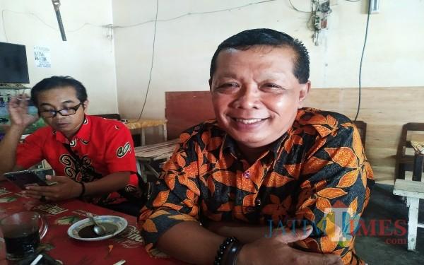 Ki Minto Sudarsono, Kepala Desa Pakisrejo, Rejotangan, Kabupaten Tulungagung / Foto : Anang Basso / Tulungagung TIMES