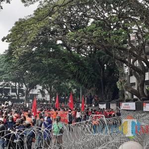 Polisi Batasi Aksi Demonstrasi Tolak UU Cipta Kerja hingga Pukul 17.00 WIB