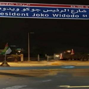 Presiden Jokowi Dijadikan Nama Jalan di Abu Dhabi, Baru Saja Diresmikan