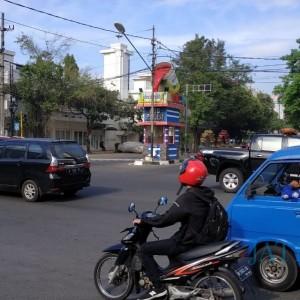 Titik Kumpul Pendemo di Kota Malang Masih Sepi