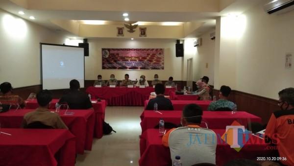 BPBD Tulungagung Bekali Relawan Penanggulangan Covid-19