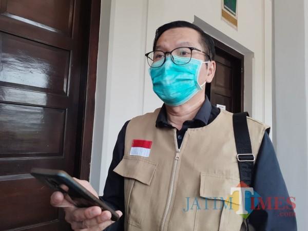 Juru Bicara Gugus Satgas Covid-19, Kabid Pencegahan dan Pengendalian Penyakit (P2P) Dinkes Kota Malang, dr Husnul Muarif. (Arifina Cahyanti Firdausi/MalangTIMES).