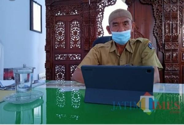 Kepala Dispendukcapil Kabupaten Blitar, Luhur Sejati.(Foto : Aunur Rofiq//BlitarTIMES)
