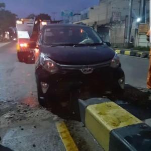 Pulang Kunker, Anggota DPRD Kota Malang Alami Kecelakaan