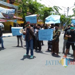 Silaturahmi Kapolda Jatim ke Pamekasan Disambut Aksi Demonstrasi