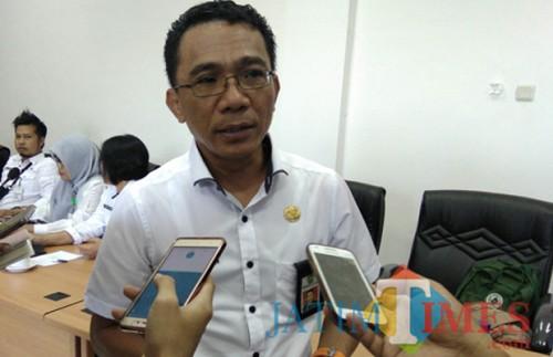 Kepala Bapenda Kota Malang, Ir H Ade Herawanto MT (Dokumentasi MalangTIMES).