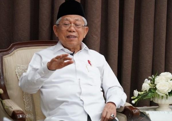 Wakil Presiden Ma'ruf Amin (Foto:  Pikiran Rakyat)