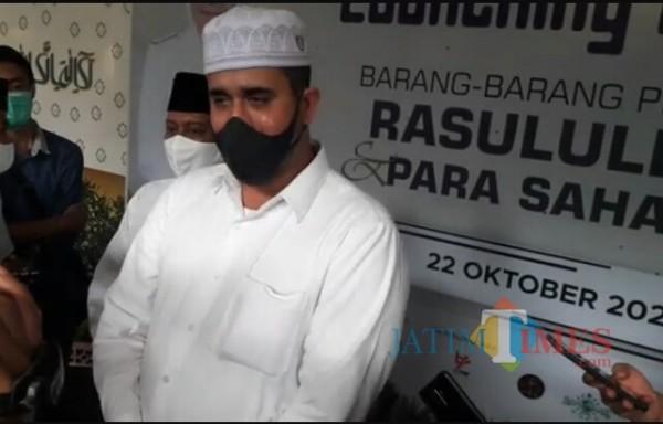 Wali Kota Habib Hadi Launching Pameran Museum Rasulullah SAW, Ribuan Pengunjung Antre Lihat Darah Nabi