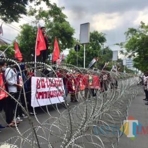 Berlangsung Kondusif, IMM Malang Raya Orasi Tolak UU Cipta Kerja di DPRD dan Balai Kota Batu