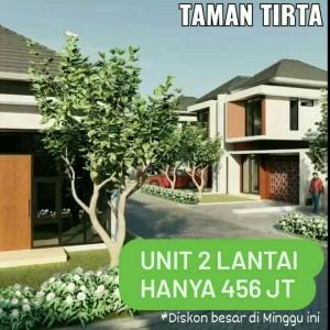 Rumah 2 Lantai Hanya 456 Juta di Taman Tirta Malang, Ada Diskon Besar!