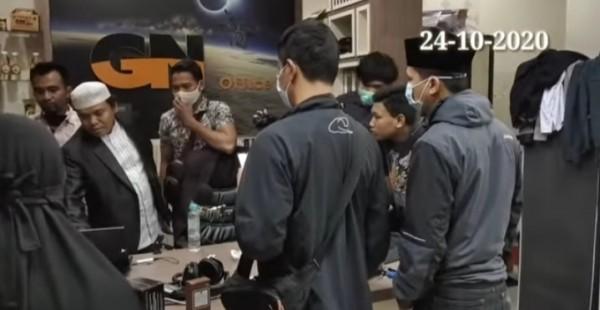 Muncul Video Detik-Detik Gus Nur Diamankan Bareskrim Polri