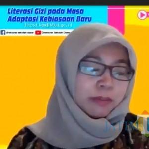 Sambut Belajar Tatap Muka, Guru SDN 1 Yosomulyo Ikuti Webinar Literasi Gizi Kemendikbud