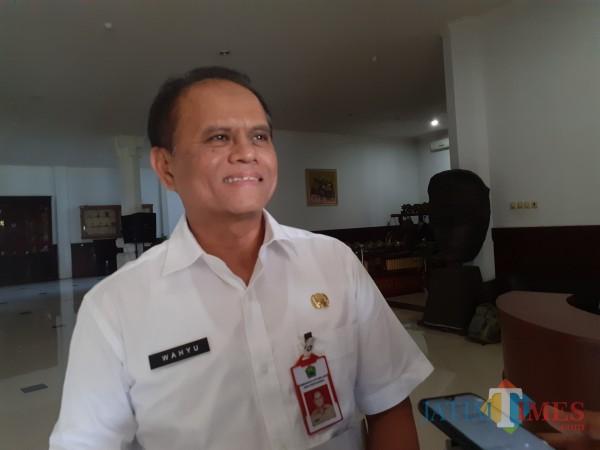 Kepala Dinas Koperasi Perindustrian dan Perdagangan (Diskopindag) Kota Malang, Wahyu Setianto. (Arifina Cahyanti Firdausi/MalangTIMES).