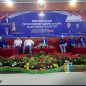 Emil Dardak Hadiri Konsolidasi DPC Partai Demokrat Ngawi