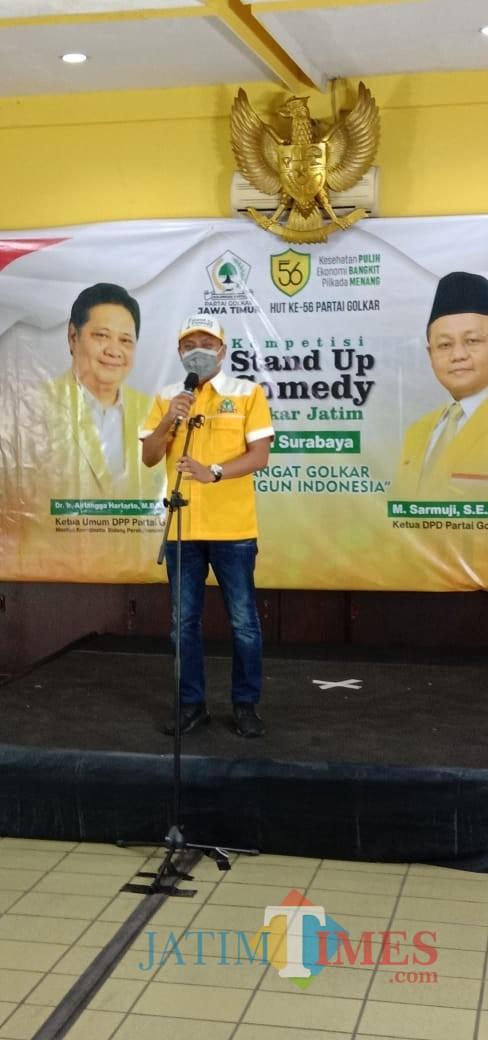Golkar Kritik Pemerintah Lewat Lomba Komedi di Surabaya