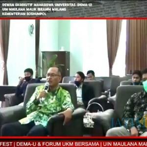 Rektor UIN Malang Minta Pemuda Tak Salah Paham Terhadap Politik
