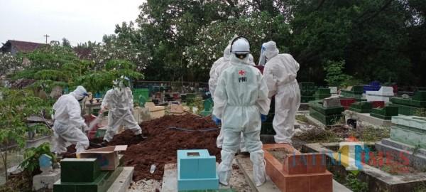 Selama Pandemi, PMI Jember Antarkan 105 Jenazah Sesuai Protokol Covid-19