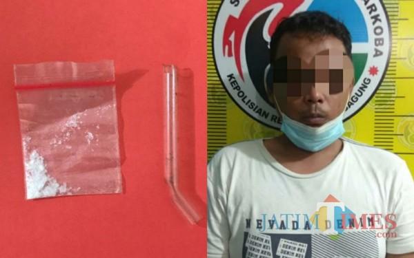 Kedapatan Simpan Sabu, Pria di Tulungagung Ditangkap Polisi