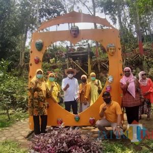 Genjot Perekonomian di Tengah Pandemi, Kampung Topeng jadi Alternatif Wisata Kota Malang