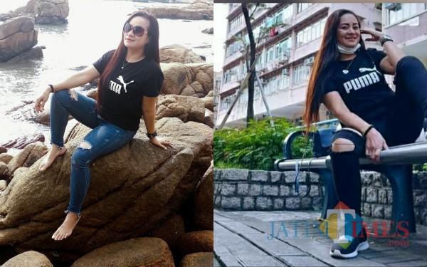 Foto-Foto Cantik Chindy atau Chynty Mueentull saat liburan. (Foto: Istimewa/TulungagungTIMES)