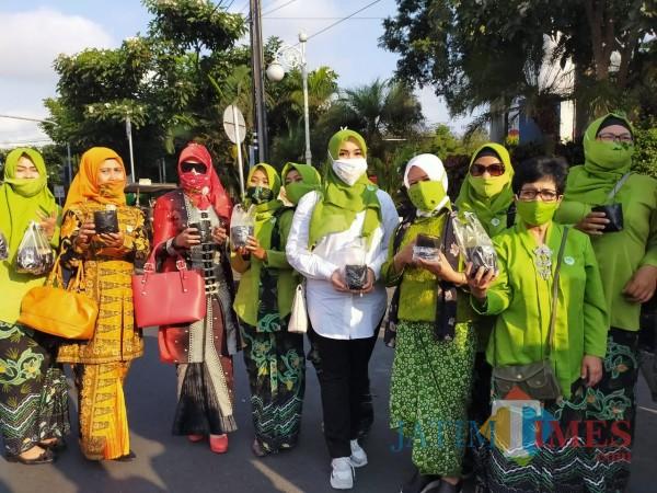 Lia Istifhama Ketua Dewan Pimpinan Provinsi Jawa Timur Perempuan Tani HKTI. (Foto: Muklas/JatimTIMES)