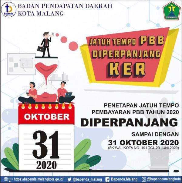 Jatuh tempo pembayaran PBB di Kota Malang yang bersamaan dengan jatuh tempo Suncet Policy (Dokumen Bapenda Kota Malang for MalangTIMES).