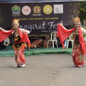 Sak Celupan Yudi Prata, Bangkitkan Seni Budaya Warga Kampung Celaket di Jenggirat Fest