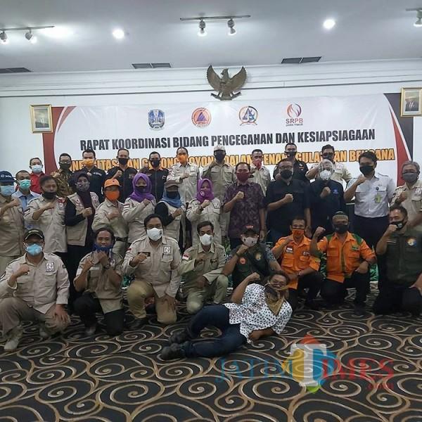 Hadapi Musim Penghujan, BPBD Jatim Ajak Kelompok Sukarelawan Rakor Antisipasi Bencana